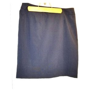 Calvin Klein classic navy skirt
